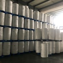 HEPA H13 H14 Media PP Nonwoven Melt blown 0.3 ไมครอน Bond ผ้า Hot Air Cotton