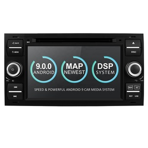 "7"" Android 9.0 2 Din Car Radio Touch Screen Player Car Multimedia Player For Focus 2+16G 4 Core PEG/WMA/CD/Mp3/Mp4/DVD"