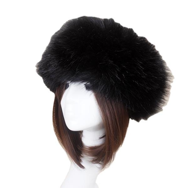 Barlaycs Mode Vintage Bunte Winter Gefälschte Pelz Haarband Imitation Kaninchen Faux Pelz Stirnband Zubehör für Frauen