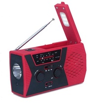 Noaa AM FM <span class=keywords><strong>Rádio</strong></span> portátil Mini <span class=keywords><strong>USB</strong></span> Lanterna Led