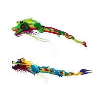 Chinese 10m nylon giant the dragon inflatable kite