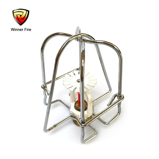 One piece Chrome Plated Fire Sprinkler Head Guard chrome plated fire sprinkler head guard