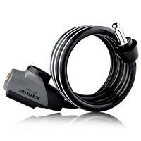 ETOOK 1.5 Meter Combination Bike Cable Lock Bike with Reflective Strip