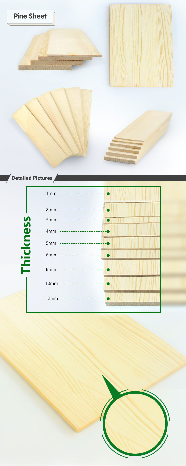 1mm 1 5mm 2 Mm 2 5mm 3mm 4mm 5mm Plank Pine Wood Planks