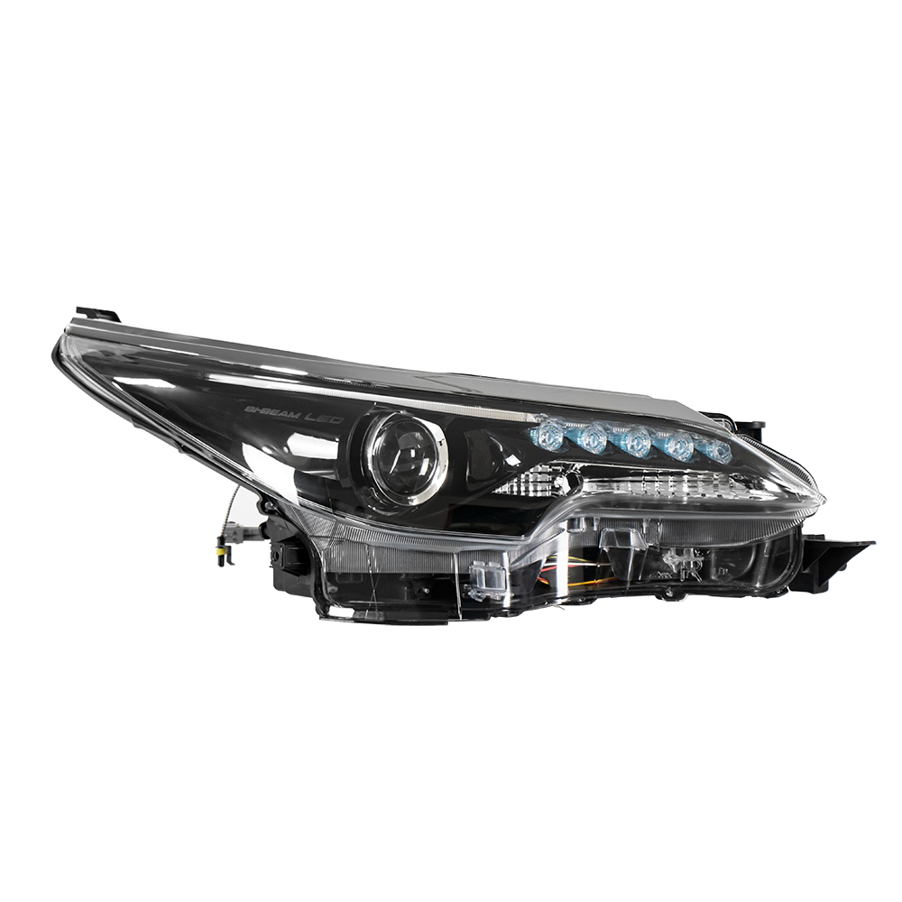 Depo 331-1187R-ASH Lincoln Town Car Passenger Side Replacement Headlight Assembly 02-00-331-1187R-ASH