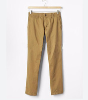 OEM mens Vintage washed slim fit khakis 2016 autumn latest casual trousers for men