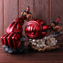 Een Stuk Gear 4 Luffy Action Figure Monkey D Luffy Gear Vier <span class=keywords><strong>Pvc</strong></span> Collectible Model Toy