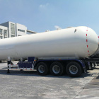 CIMC LPG 58CBM GB/ASME Propane Transport Road Tanker Trailers For Sale