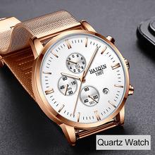 HAIQIN 2019 модные механические мужские часы, лучший бренд, роскошные спортивные наручные часы, мужские водонепроницаемые кварцевые часы, мужск...(Китай)