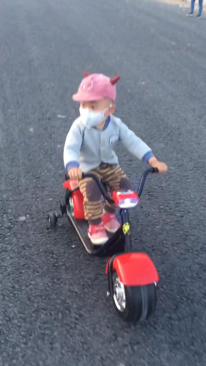 Suncycle 2020 جديد ركوب على سيارة 2 عجلات من البلاستيك طاقة البطارية دراجة بخارية كهربائية لعبة للأطفال