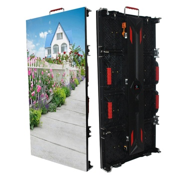 Ad 2019 Hight Quality Rental Led Display Outdoor Full Color P3.91 Led Display Advertising Screens Cabinets