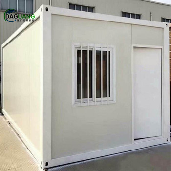 Low cost 20ft Prefab container home for sale /Cheap prefabricated container house price/Mobile shipping container office price