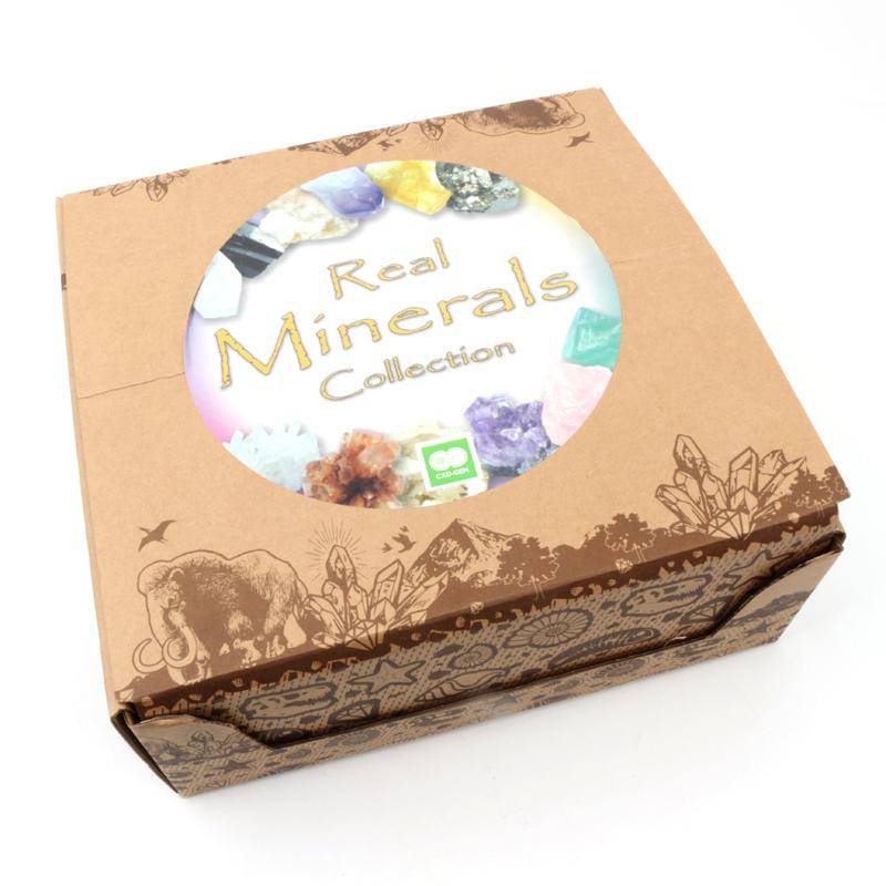 Wholesale Natural Healing Crystal Box Sets, Tumbled Different Mineral Rock Set Crystal Box