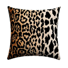 Grosir Hot Sale Personalized <span class=keywords><strong>Leopard</strong></span> Cheetah Beludru Sarung Bantal