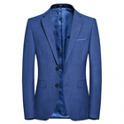 Natural style china men's custom design long coat suit men