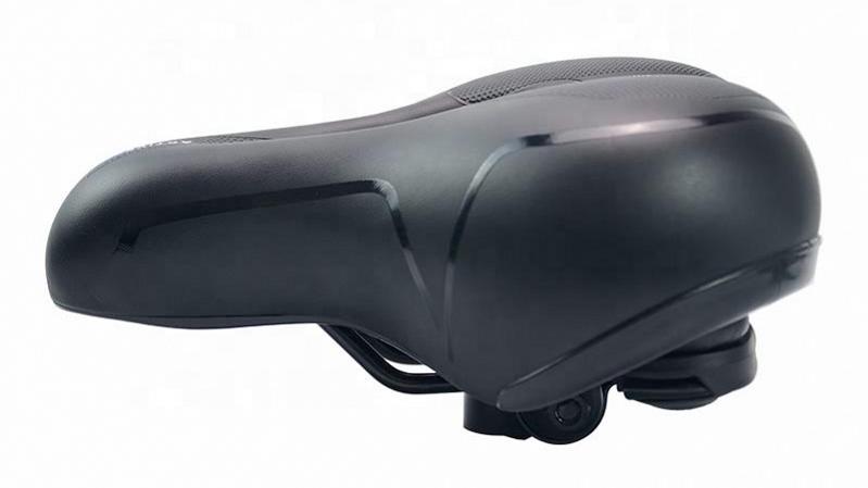 ZOYOSPORTS Comfortable Bike Seat Wide Bicycle Saddle Memory Foam Padded Soft Bike Cushion with Dual Absorbing Shock Rubber Balls
