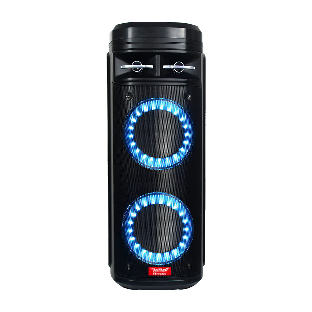 Nova dupla de 6.5 polegadas carrinho modelo privado do bluetooth dj speaker