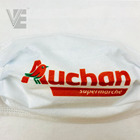 Company team logo customized PP spunbond non woven fabric rolls printing positioning
