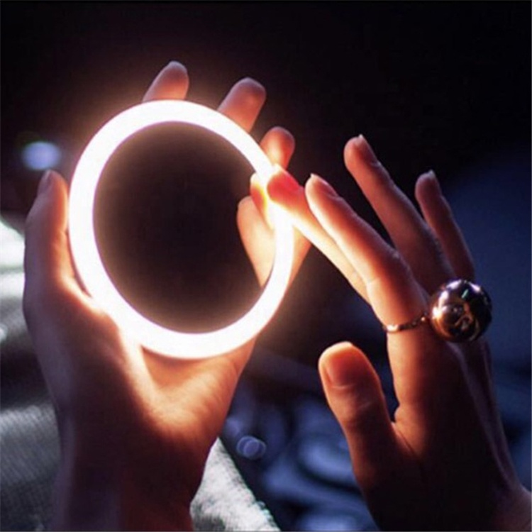 Wholesale Cheap Make Up LED Mirror Cosmetic Mini Portable Pocket LED Lighted Makeup Mirror