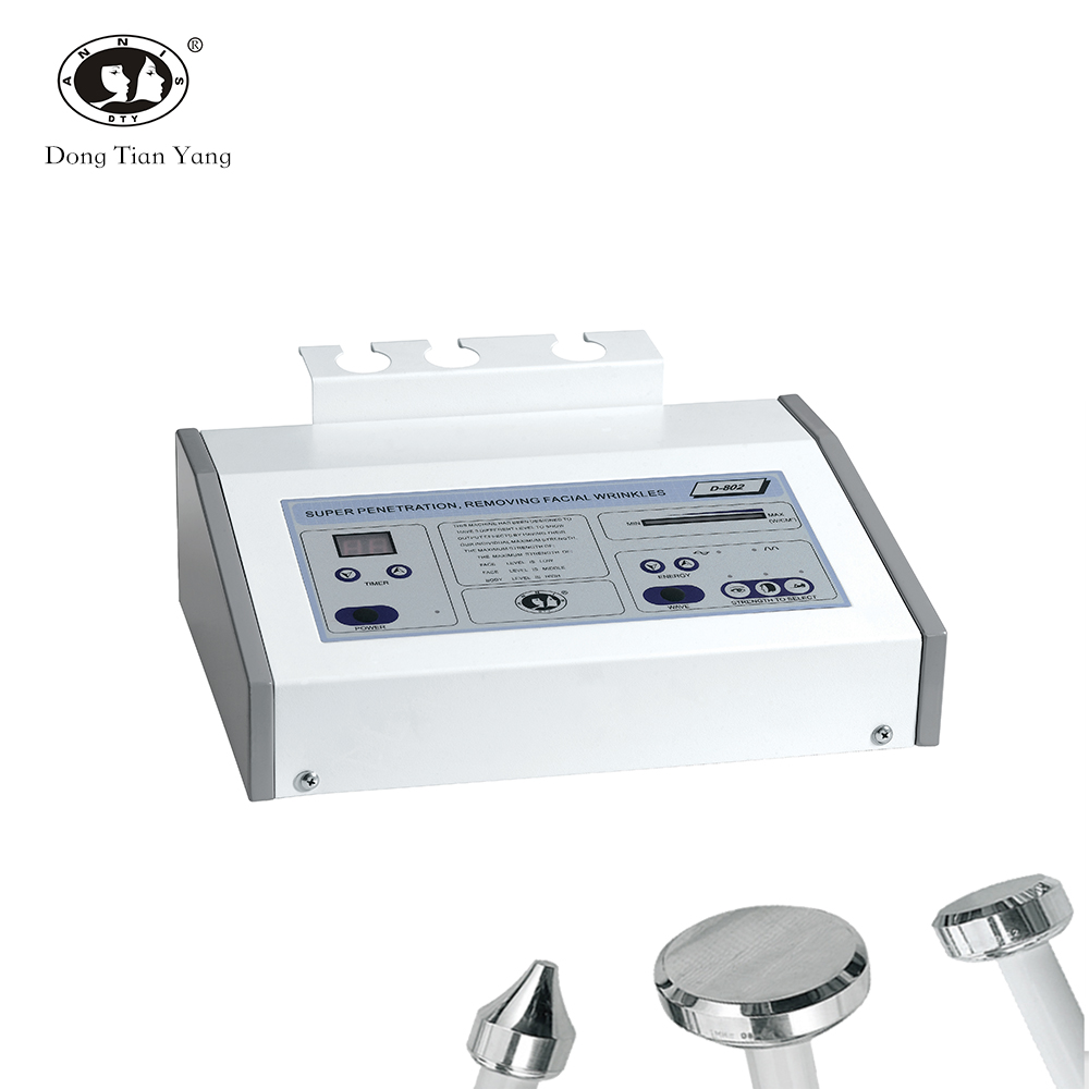 DTY portable spa skin care <strong>device</strong> 3 probes <strong>ultrasonic</strong> facial massager beauty machine