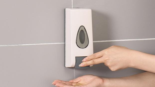 ABS Plastic liquid soap dispenser Wall Mounted Hand foam Soap Dispenser