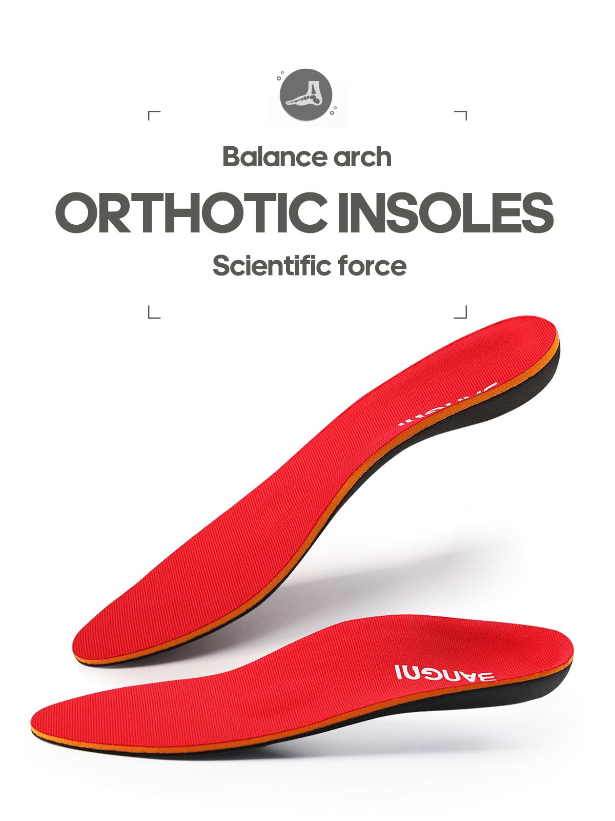 3angni矯正アーチサポート靴インサート整形外科インソールフラットフィートヒール痛み足底カスタムインソール男性と女性