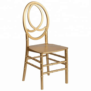 cheap wholesale price gold wedding phoenix chairs