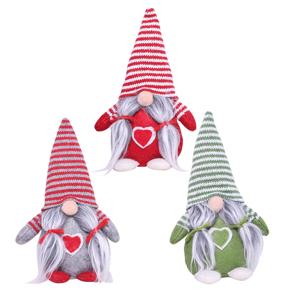 Christmas Ornaments Faceless Doll 2020 new arrivals Plush Doll with Pendant Decoration