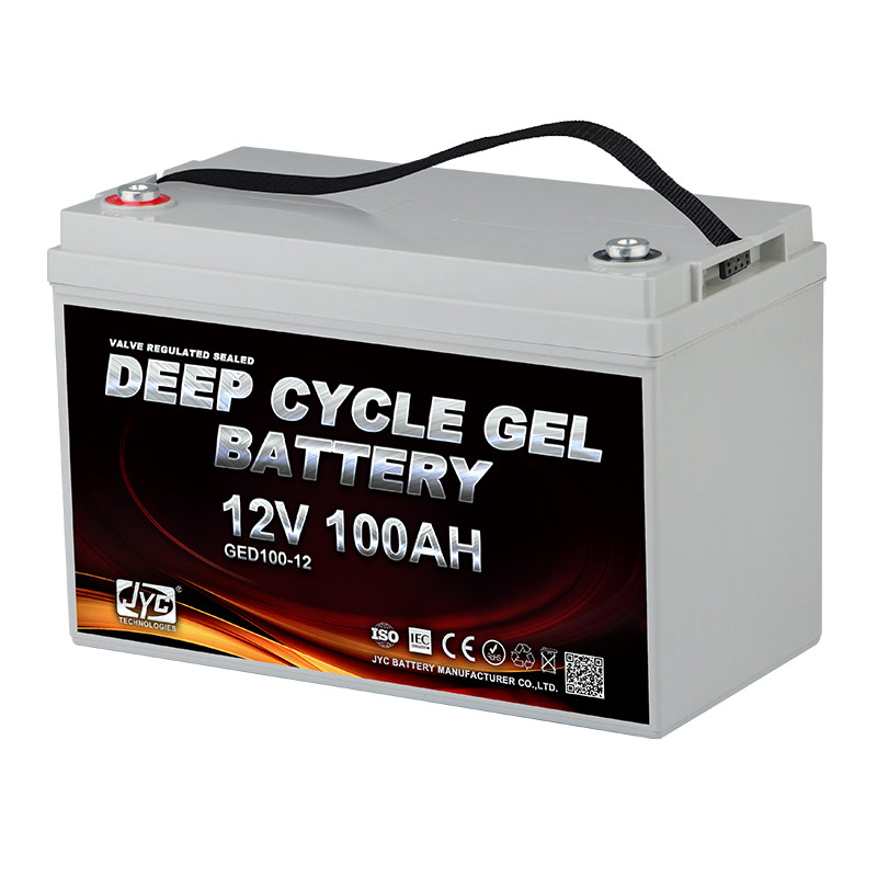 JYC AGM VRLA SLA Deep Cycle Gel Battery 12V 100Ah