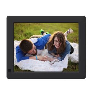 OEM & ODM voice recording digital photo frame as a advertising player
