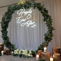 Custom made party wedding 3D decorative sign letters led flexible neon light acrylic wedding sign with electronic sign