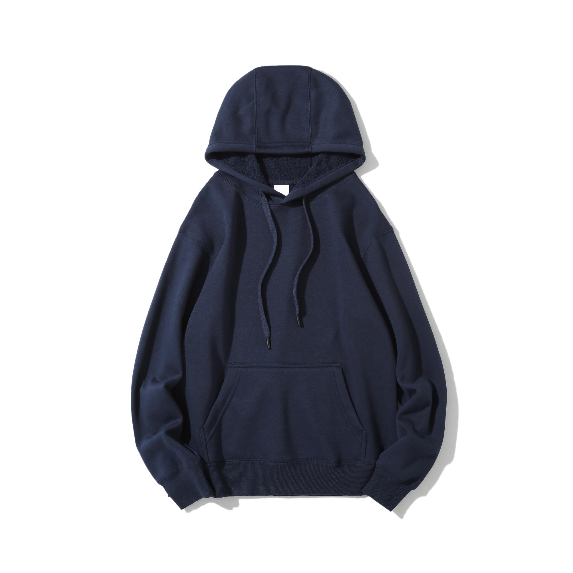 Hoodies Unisex Plain Sweatshirt Print Winter Pullover Cotton Sprint Custom Logo Men Sweatshirt