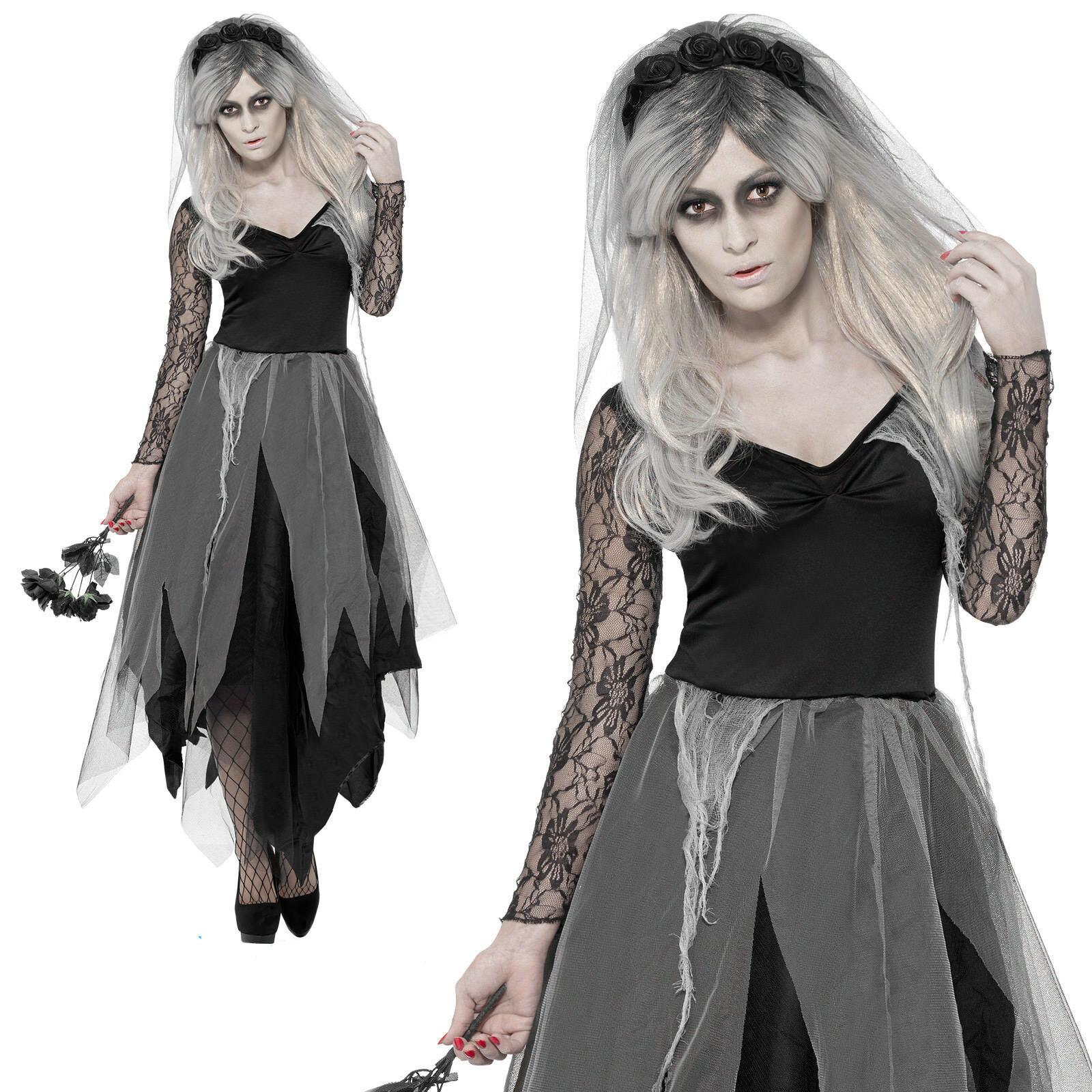 Zombie Graveyard Ghost Bride Maid Costume Corpse Womens Halloween Ghost  Plus Size Fancy Dress Costumes Qawc-2812 - Buy Ghost Bride Costume,Bride  Maid ...