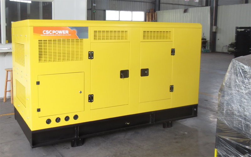 Low Fuel Consumption 3 Phase Silent 75kw 80kw 100kw Diesel Generators Set 6BT5.9-G2 Engine Price Generator