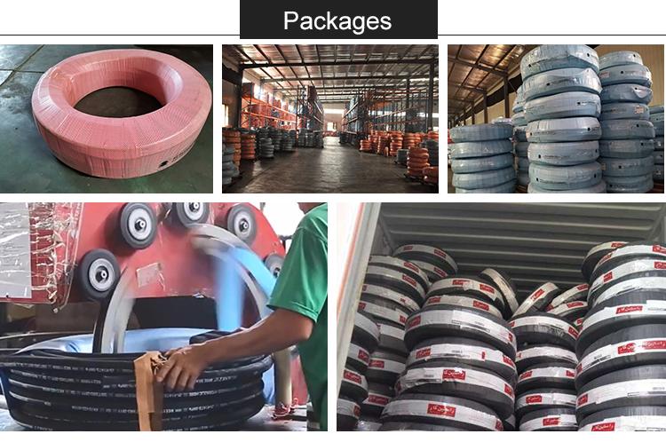 מפעל ישיר ניקוי הידראולי גומי צינור לחץ גבוה כוח שטיפה צינור