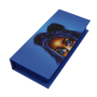custom paper jewelry printed boxes made strong carton folding black corrugated shipping kraft paper gift jewelry boxes