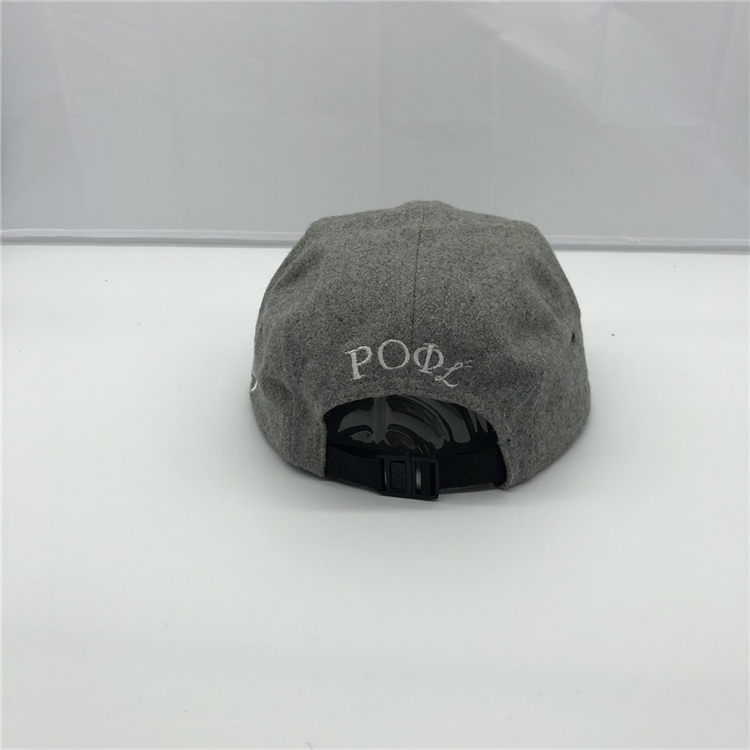 100% polyester 3d embroidery flat brim snapback embroidered logo  5 panel snapback cap