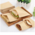 ZL Disposable Greaseproof Food Packaging Pouch Eco Friendly Kraft Food Grade Pie French Fries Hamburger Snack Food Paper Bag