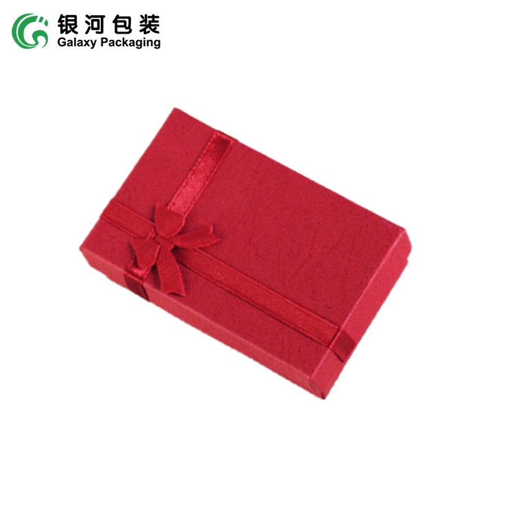 Low price personalized jewelry box glossy jewelry box earring