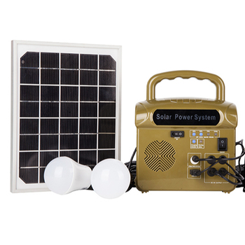 Complete Kit 24W Solar Panel Energy Off Grid Solar Power System Home