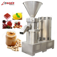 Commercial Automatic Coconut Grinding Colloid Mill Shea Date Paste Production Almond Grinder Peanut Butter Making Machine Price