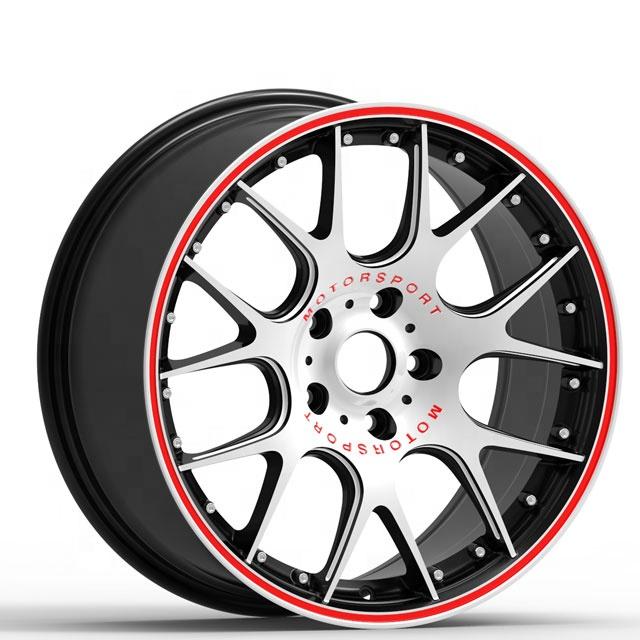 18x8,0 18x8,5 pulgadas OEM 5 agujeros nuevo diseño de rueda de coche llantas de aleación