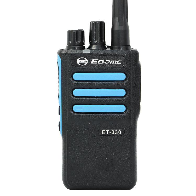 Ecome ET-330 intercom digitale uhf dmr basis two way radio walkie talkie