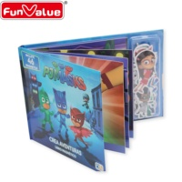 Audit Factory Creative New style Scenario Magnet Books for Kids