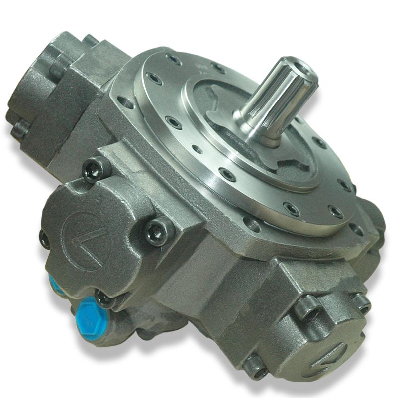 High Torque Staffa hydraulic motor HMB08, HMB030 Radial Piston Motor