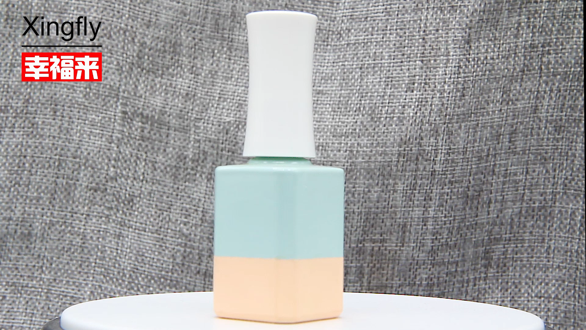empty glass uv gel 12ML Square Glass Nail/ Gel Polish Bottle/empty nail polish bottle