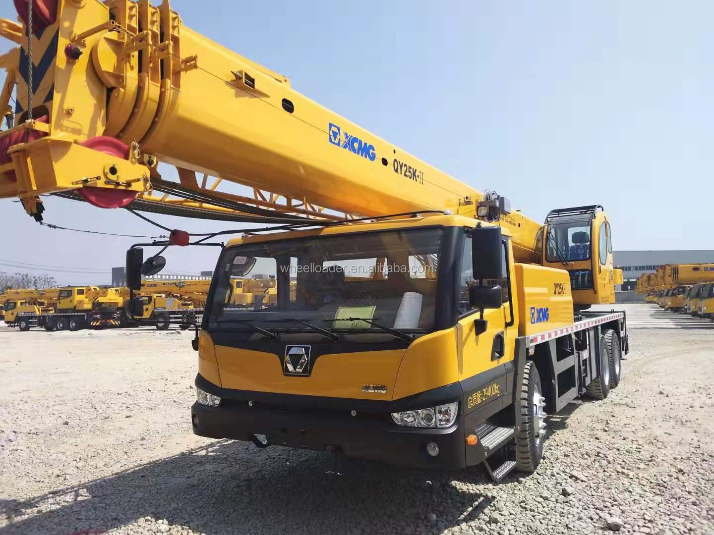 Popular China 25 Ton Hydraulic Mobile Truck Crane QY25K-2 with 4 arms