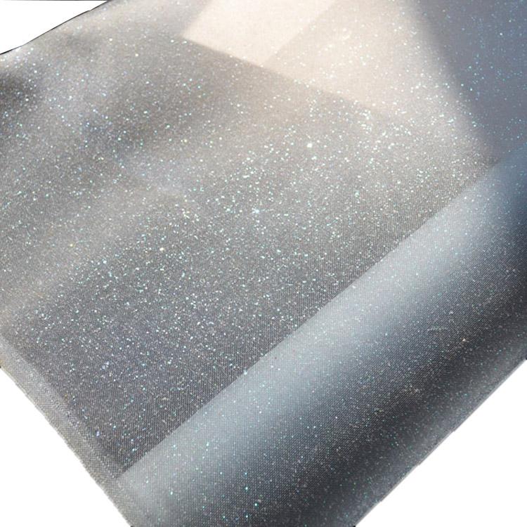 جودة الصلب الترتر التطريز 100% نسيج البوليستر شبكة كريستال للقبعة