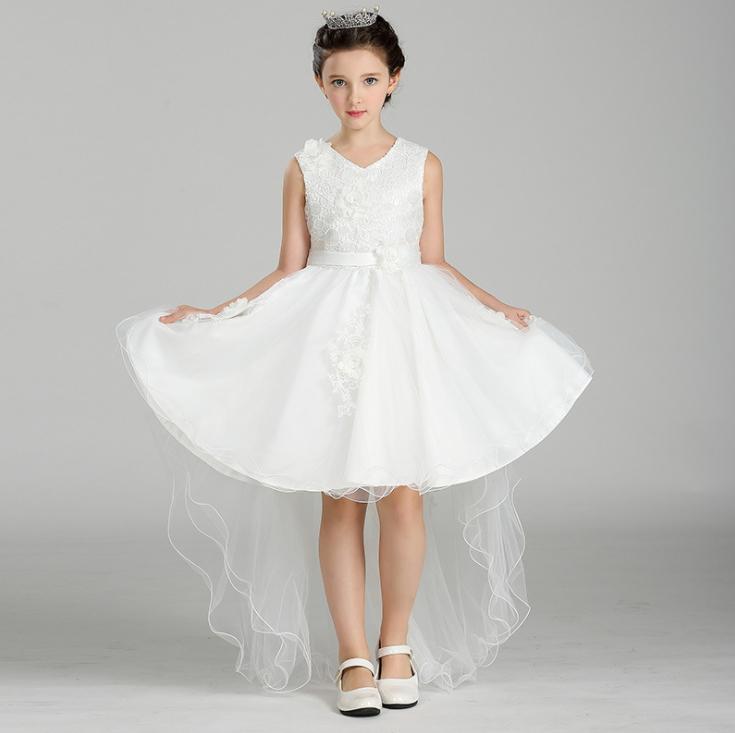 Children tuxedo flower girls show dress flower child wedding dress