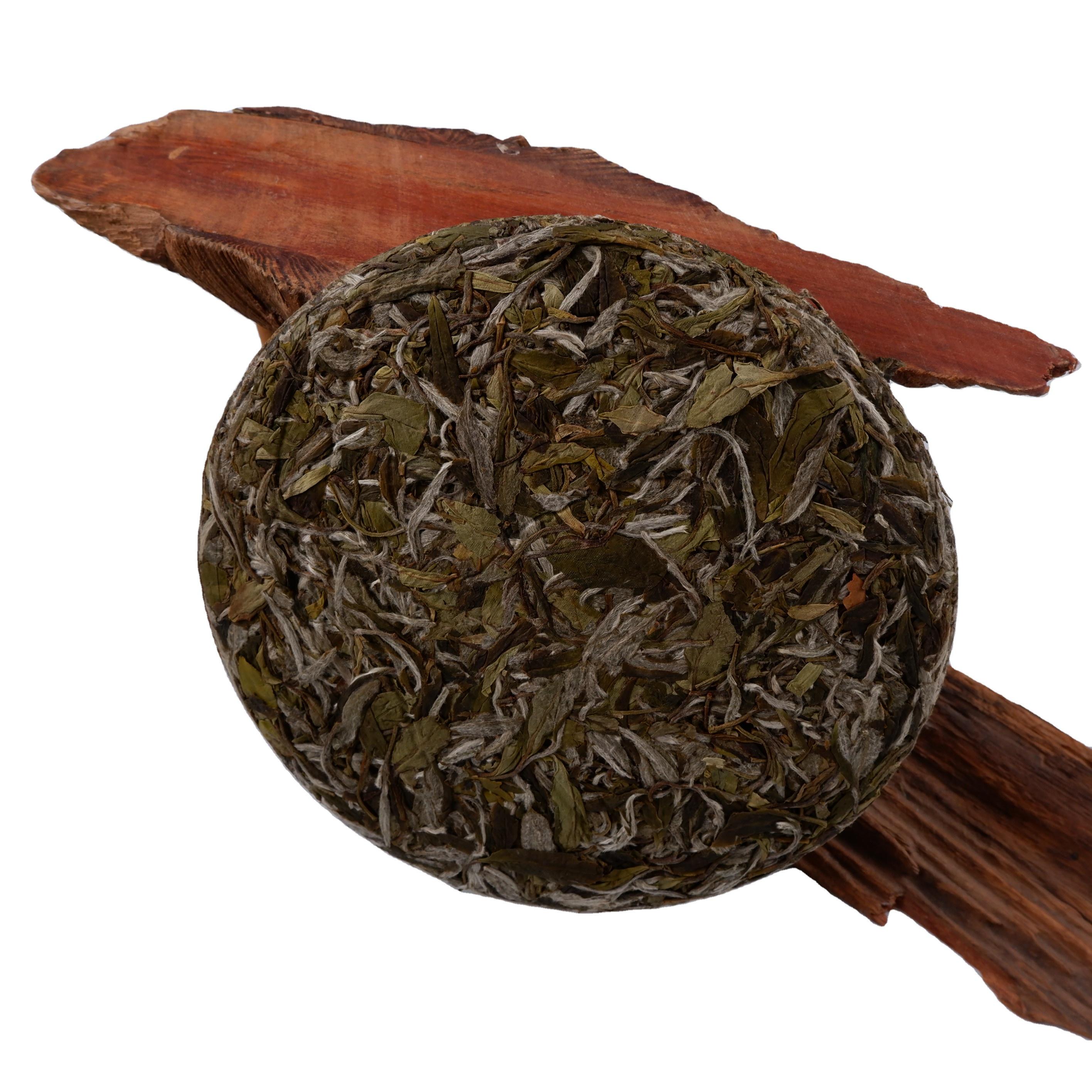 Chinese High Quality Traditional Handmade Healthy Compressed Bai Mu Dan White Tea Cake - 4uTea | 4uTea.com